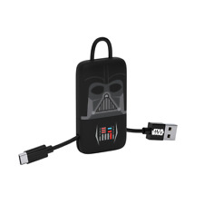 Star Wars Darth Vader KeyLine Micro USB Cable Connector 22cm