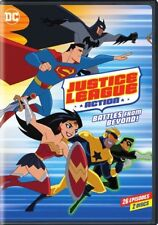 Justice League Action: Battles From Beyond Season 1, Part 2 (DVD,2018)