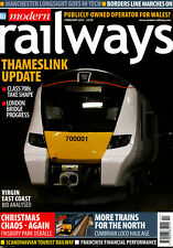 MODERN RAILWAYS 797 FEB 2015 Thameslink,London Bidge,Class 700,Wales,Tourist Tra