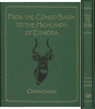 CHRISTENSON BIG GAME BOOK FROM THE CONGO BASIN ETHIOPEAN HIGHLANDS limited edn