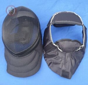 BLACK Coach Mask WMA protective face 350N removable lining Extra Large