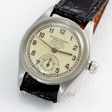 Rolex Vintage Oyster Imperial Chronometre Dobbies LTD Nairobi Dial 3370 Steel
