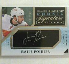 2015-16 Upper Deck Black Diamond Rookie Signature /249 Emile Poirier 15/16