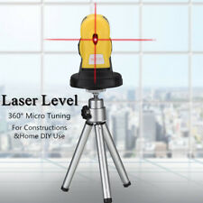 4in1 360 Degree Micro Tuning Red Cross Infrared Laser Level Rotary Measure Tool