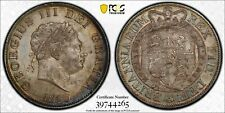 1820 Great Britain George III 1/2 Half Crown PCGS MS64