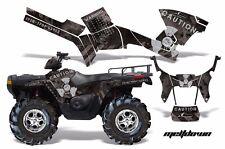 AMR Racing Polaris Sportsman800/500 Graphic Kit Wrap Quad Decal ATV 05-10 MD SLV