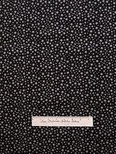 Christmas Fabric - Gray Stars on Black - Fabri-Quilt YARD