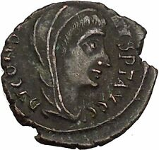 CONSTANTINE I the GREAT 347AD  Ancient Roman Coin Christian Deification  i35594