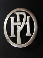 MONOGRAMMES ARGENT MASSIF PH HP INITIALE CHIFFRE SOLID SILVER MONOGRAMS ART DECO