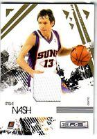 2009-10 Rookies & Stars Gold Materials #77 Steve Nash Jersey #/250