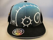 IMTD I'm Totally Different Monster Snapback Hat Cap Blue Black