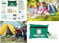 Travel FIRST AID KIT 92pcs Emergency Survival Bag Medical Hiking Car Home Care