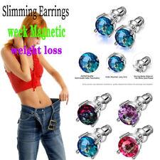 Weight-loss Earrings Fat Burning Magnetic Therapy Earrings Diamond Earrings