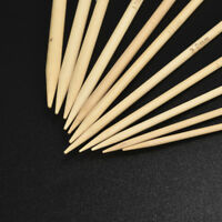 55Pcs Bamboo Knit Tool Double Pointed Sweater Glove Knitting Needles Tool 2018