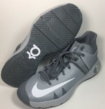 New Nike Zoom KD Trey 5 IV Gray Basketball Shoes 844571-011 Mens Sz 10.5