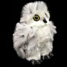 18cm Snowy Owl Soft Toy From Dowman - Stuffed Animal