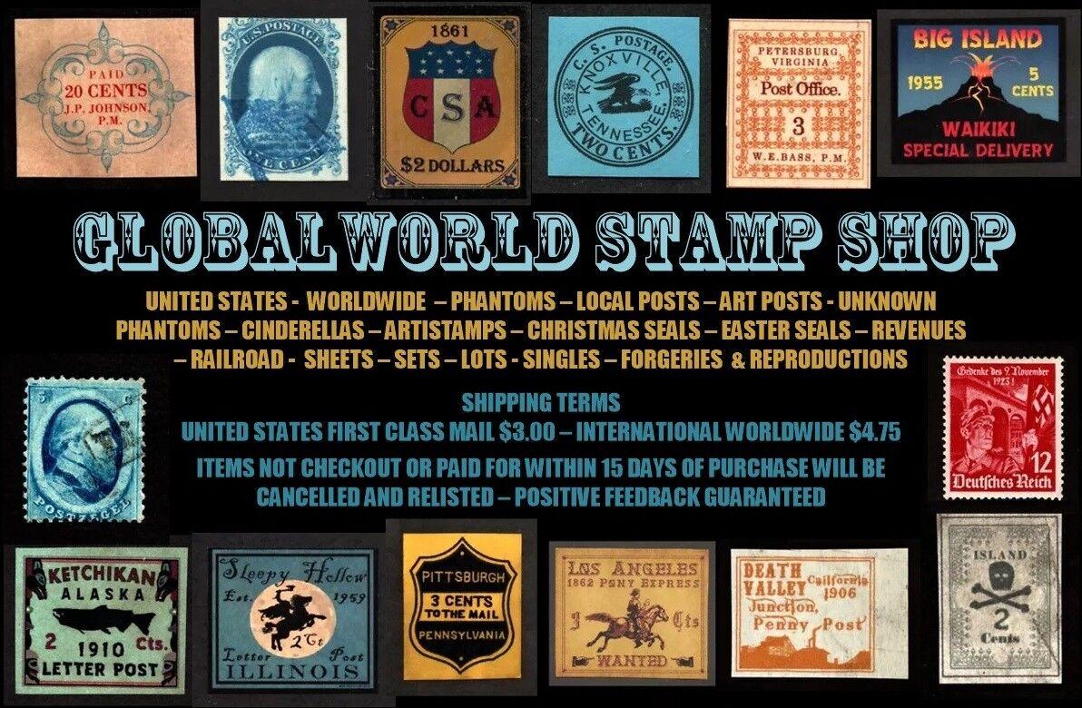 GLOBAL WORLD Stamp Shop