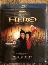 Hero (Blu Ray) Jet Li Brand New Sealed! Free Shipping