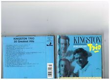 KINGSTON TRIO CD. GREATEST HITS..THE BEST OF..