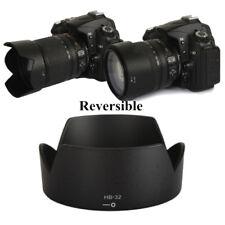 HB-32 Camera Lens Hood Reversible Bayonet For Nikon AF-S 18-70 18-105 18-135