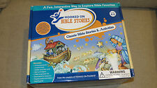 Hooked on Phonics Bible Stories complete set New Nt Ot *ages 4-6* Activities nib