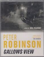 Gallows View Peter Robinson 2 Cassette Audio Book NEW Abridged DCI Banks