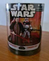"""STAR WARS 3.75"""" ORDER 66 EMPEROR PALPATINE AND COMMANDER THIRE Free Postage"""