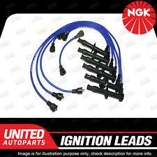 NGK Spark Plug Ignition Lead Set for Porsche 911 930 F6 1965-1789