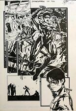 Batman Superman #34 page 10 NIGHTWING halfsplash by Guiseppe Cafaro