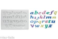 Stampo lettere in corsivo silicone Silikomart forno alfabeto cake SLK 329  Rotex