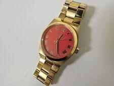 Michael Kors Channings Coral Dial Gold 38mm Case Women's Wristwatch - MK5936