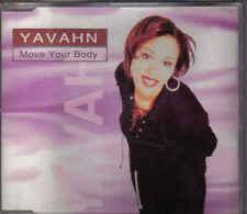 Yavahn-Move Your Body cd maxi single 8 tracks