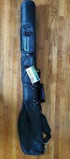 K-Cliffs Sunday Golf Bag Black Club Travel Case - 2 zipper pouches!