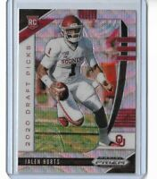 2020 Panini Prizm draft picks football Blue wave Jalen Hurts 091/299
