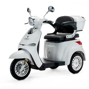 ELECTRIC MOBILITY SCOOTER 3 Wheeled VELECO CRISTAL 3 colors
