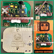 Disney Trading Pin Classic D Railroad Train 3D Gate Slider LE 1000 5 of 12 DRR