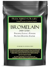 Bromelain - 2400 GDU/g Pineapple Extract Powder - Protein-Digesting Enzyme, 2 oz