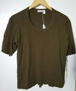1 NWT WILT WOMEN'S SHIRT, SIZE: SMALL, COLOR: BROWN (J194)