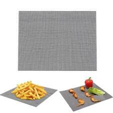Grillmatte BBQ Matte Grillgitter Unterlage Backmatte NON Stick Teflon-Antihaft