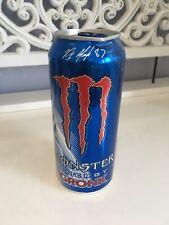 Monster Energy Drink Monster Gronk USA Voll NEU RAR Sammler B-Ware