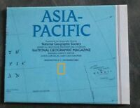 National Geographic Magazine November 1989 Map Asia-Pacific Western Pacific Rim