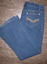 Tommy Hilfiger Womens Size 10 Hope Boot Dark Wash Boot Cut Blue Jeans EUC