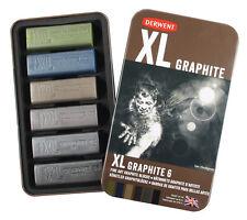 Derwent XL Graphite Block - Tin of 6