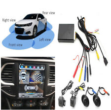 4CH Car HD 3D 360° Bird View Panorama System Car Security DVR Recording System
