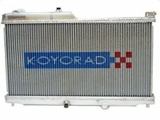 Koyo N-Flo Dual Pass Aluminium Radiator - Mazda RX7 RX-7 FD 1.3L TT - NEW UK
