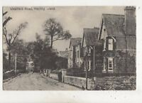 Westfield Road Hayling Island Hampshire Vintage Postcard 670b