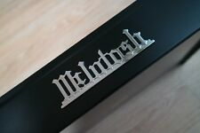 McIntosh MC30 30 emblem badge logo RHODIUM plated finish – new reproduction