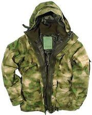 US Cold Wet Weather Nässeschutz Parka A mit  Fleece Jacke oliv MILTACS FG Medium