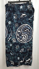 Women Summer Beach Wear Ladies Beach Wrap Cover Up Celestial Navy Blue