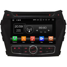 Duty-free Android 8.0 Octa Core de voiture Navi GPS stéréo HYUNDAI IX45/SantaFe